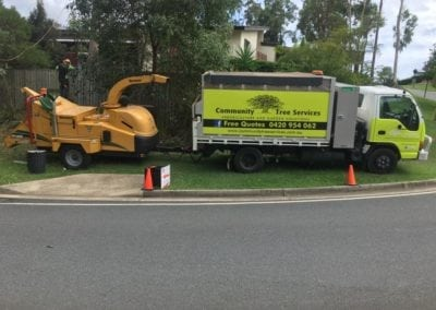 Community Tree Services Truck